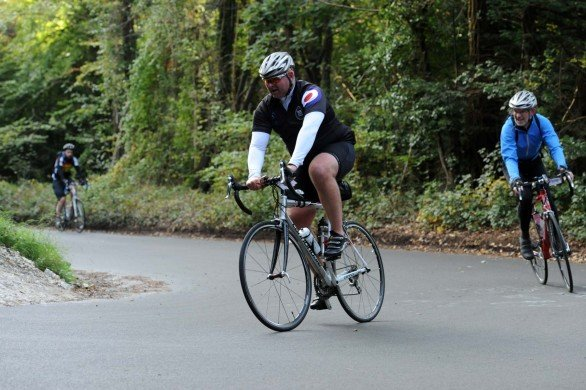 "The mighty Caad 9 ably assisting in getting me up Box Hill as part of the ""Ride Around London"" Sportive. (October 2012)"