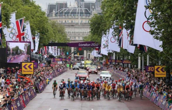 London 2012 Olympic Road Race (Photo Credit: www.insidethegames.biz)