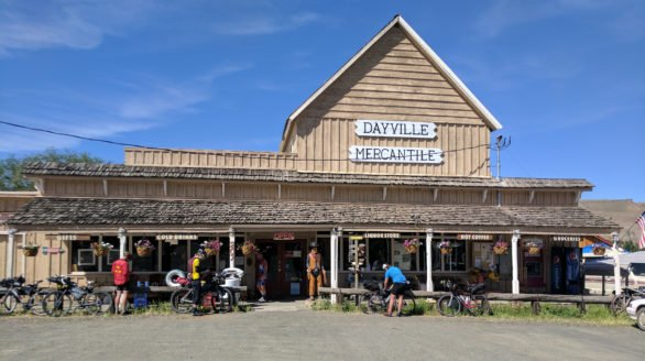 Monday June 5, 2017. The Dayville Mercantile.