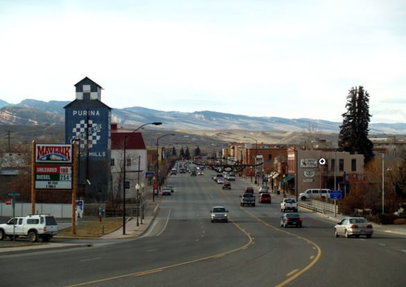 Tuesday June 13, 2017. Main Street, Lander, Wyoming. (Photo credit: Wikipedia)