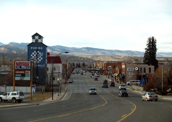 Tuesday June 13, 2017. Main Street, Lander, Wyoming. (Photo credit: Wikipedia)